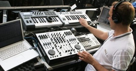 ¿Qué usa Paul Van Dyk para mezclar?