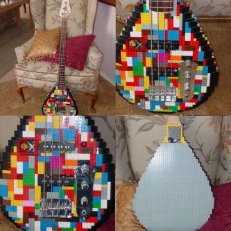 Un bajo de LEGO's!!!