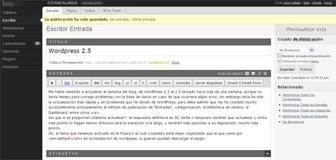 WordPress 2.5