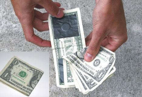 Cartera de 1 dólar