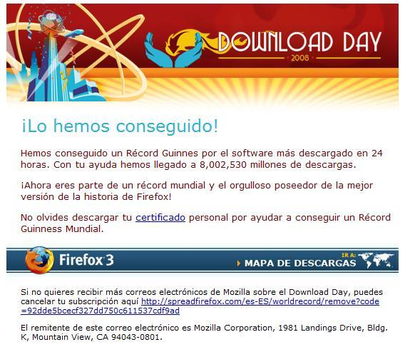 Firefox lo ha conseguido