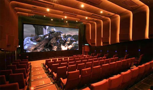 En Canadá se puede alquilar el cine para jugar Xbox