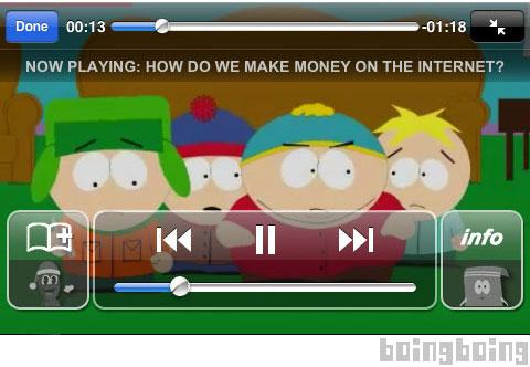 South Park lanzará su aplicación para iPhone